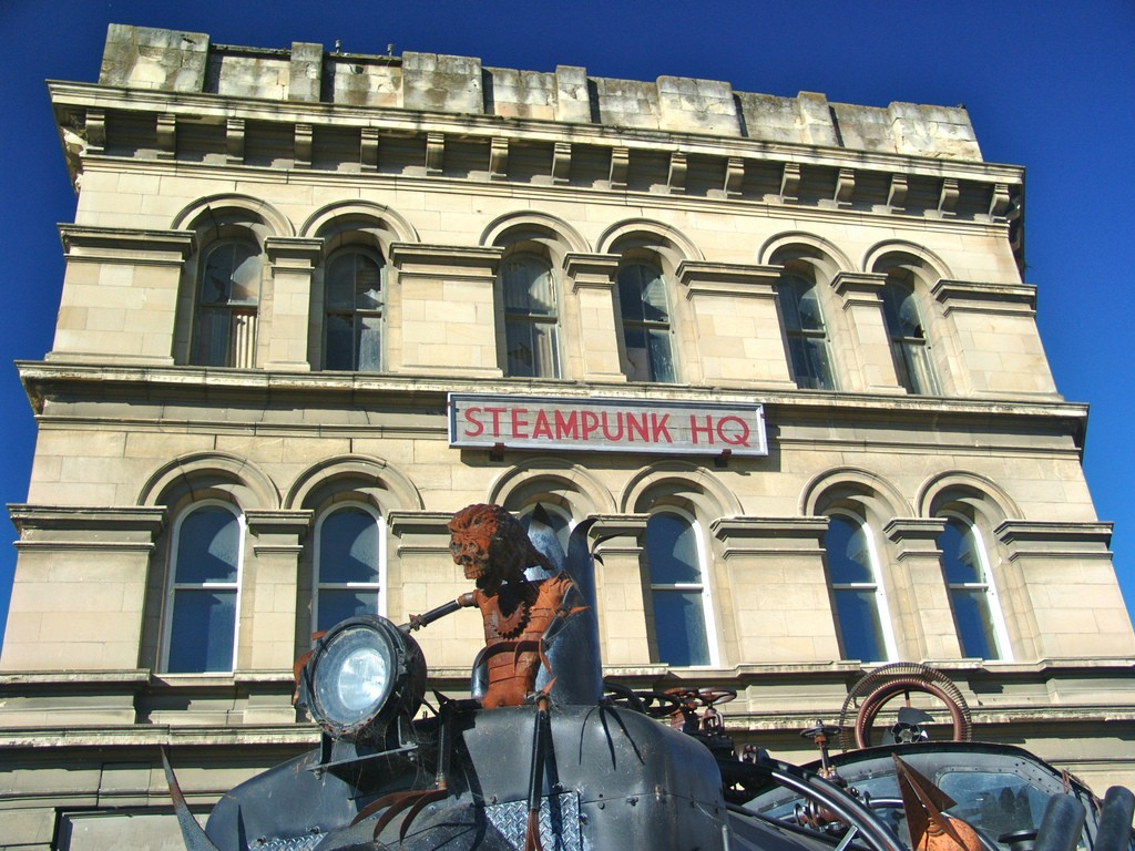 Steampunk HQ | © Bryce Edwards/Flickr