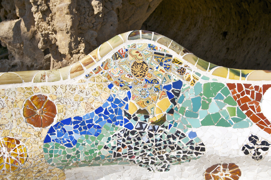 The benches at Park Güell © ArminFlickr
