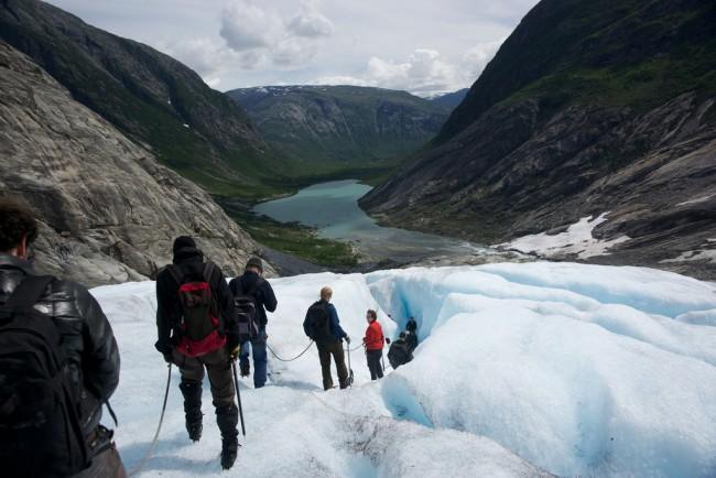 Jostedalsbreen glacier hiking | © Karen Blaha / Flickr