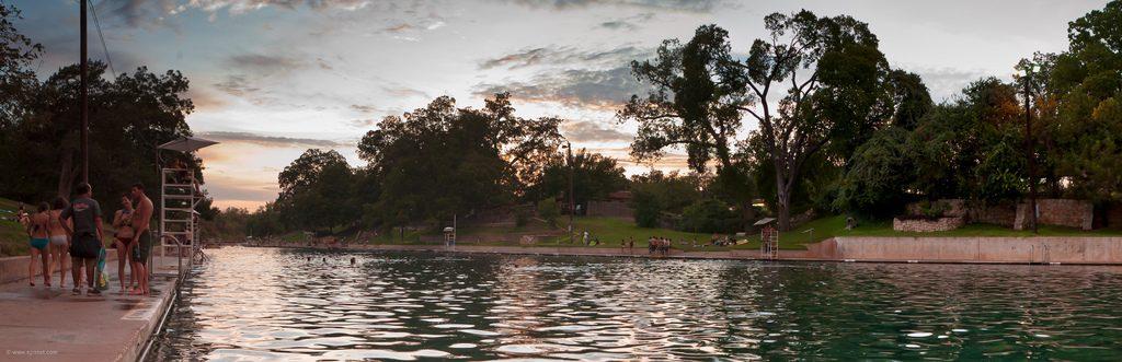 Barton Springs at Sunset | Earl McGehee