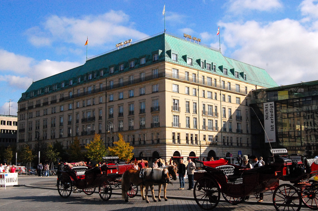 Lush, lavish and historic at the Adlon | © Jan-Willem Reusink/Flickr