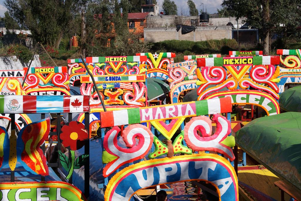 Xochimilco's trajineras are iconic | © J Israel Perez Murillo/Flickr