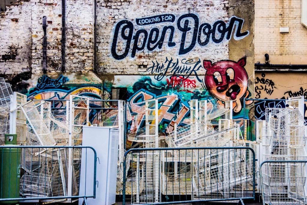 Street Art & Graffiti (Francis Street area Of Dublin) | © William Murphy/Flickr