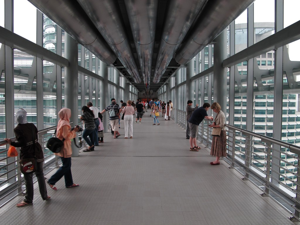 Inside the Sky Bridge | (c)David Davies / Flickr