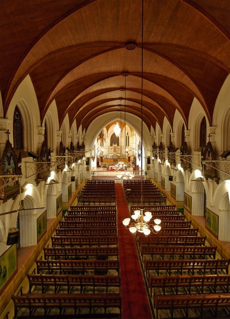 Central Nave of Santhome Basillica | © PlaneMad / WikiCommons