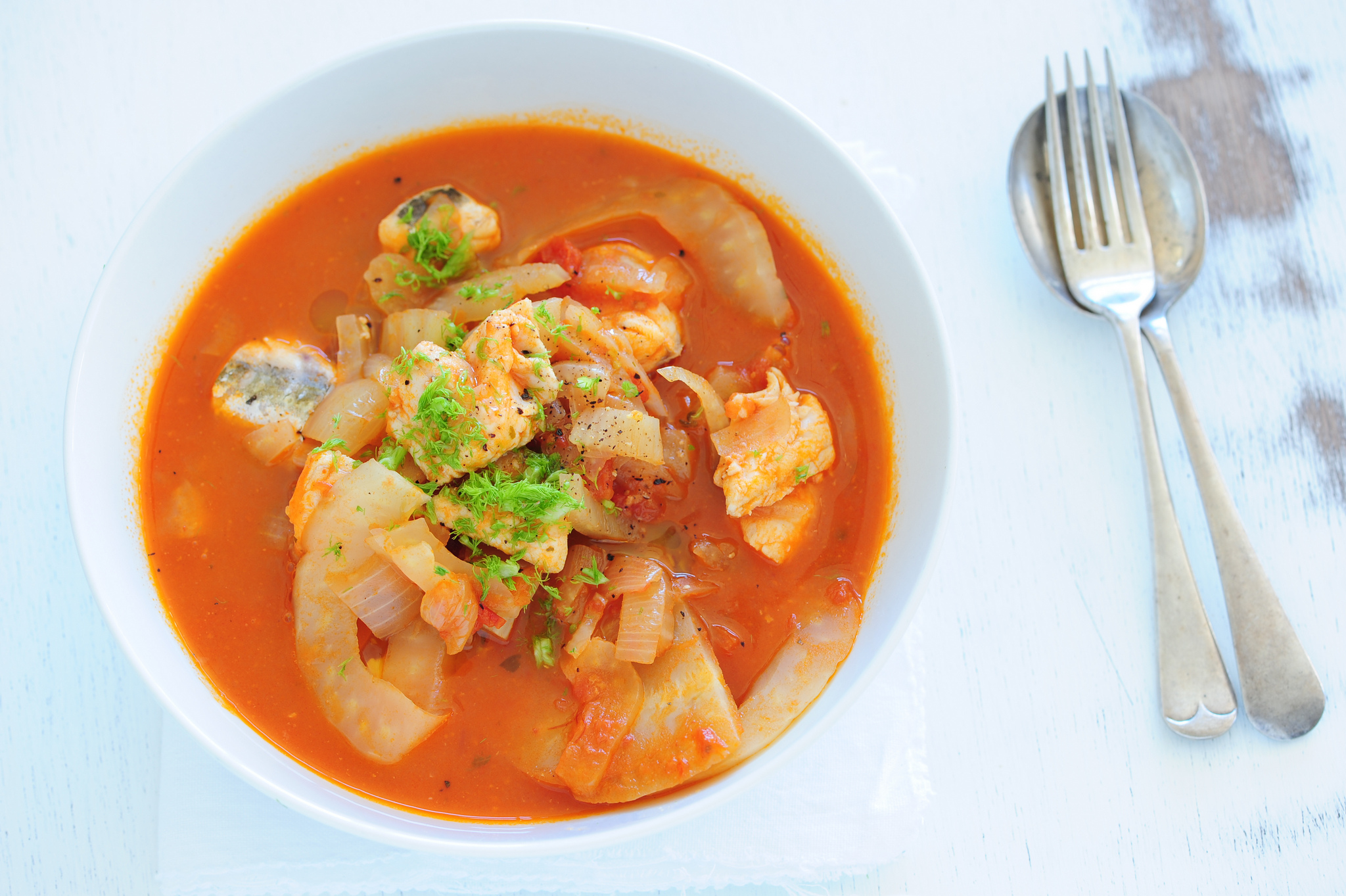 A fragrant fish stew © jules