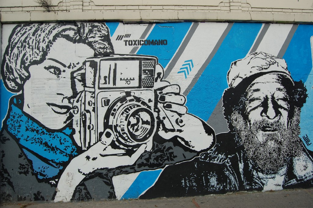 Typical Toxicómano piece depicting Fidel Castro | © Hernan Garcia Crespo/Flickr