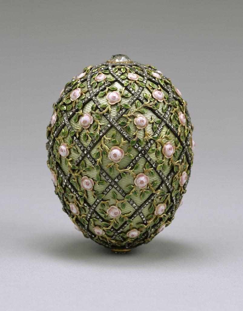Rose Trellis Egg | © Walters Art Museum / Wikicommons