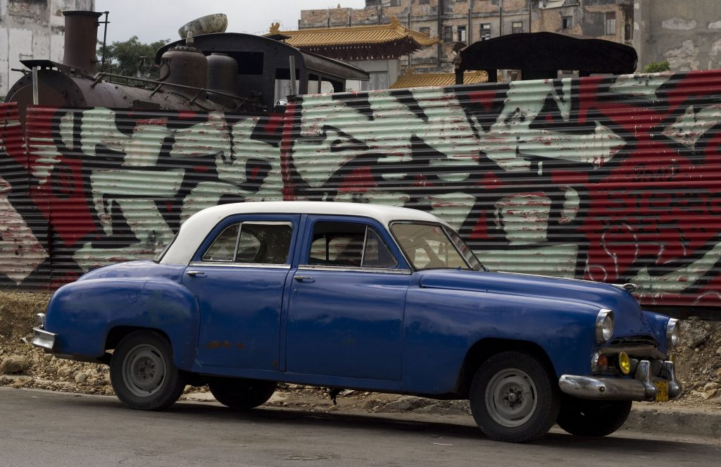 Graffiti near the Partagas Cigar Factory, Havana, Cuba | © helenedancer / Flickr
