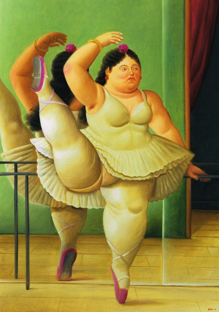 Ballet Dancer at the Bar - Botero © cea + / Flickr