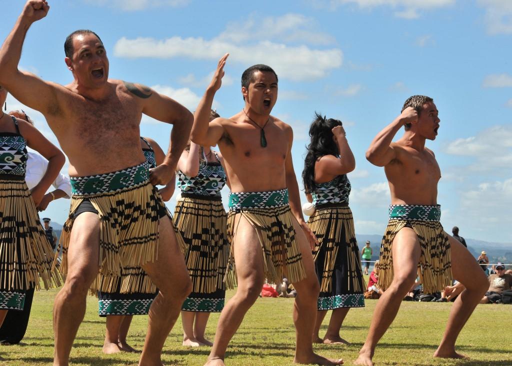 Navy Haka | © Royal New Zealand Navy/Flickr