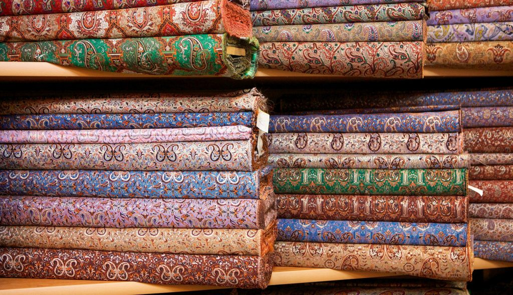 Termeh is a traditional fabric of Yazd | © Ninara / Flickr