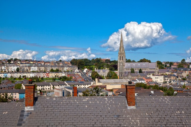 Derry's Beautiful Cityscape | © Nicolas Raymond/ Flickr