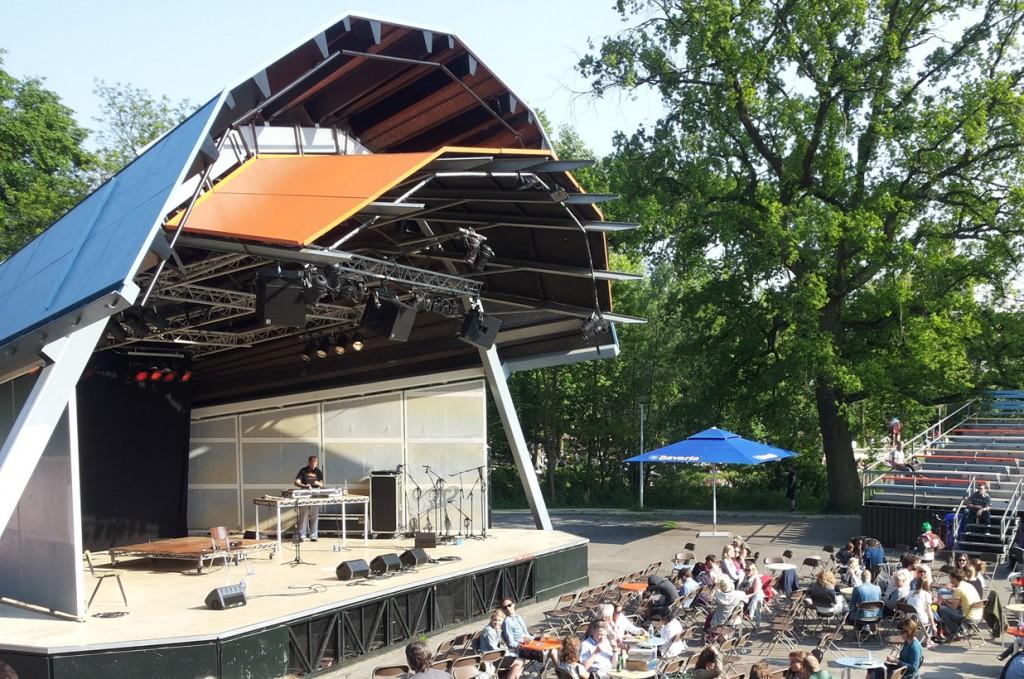 Vondelpark's open air theater | © Daviddje / Flickr