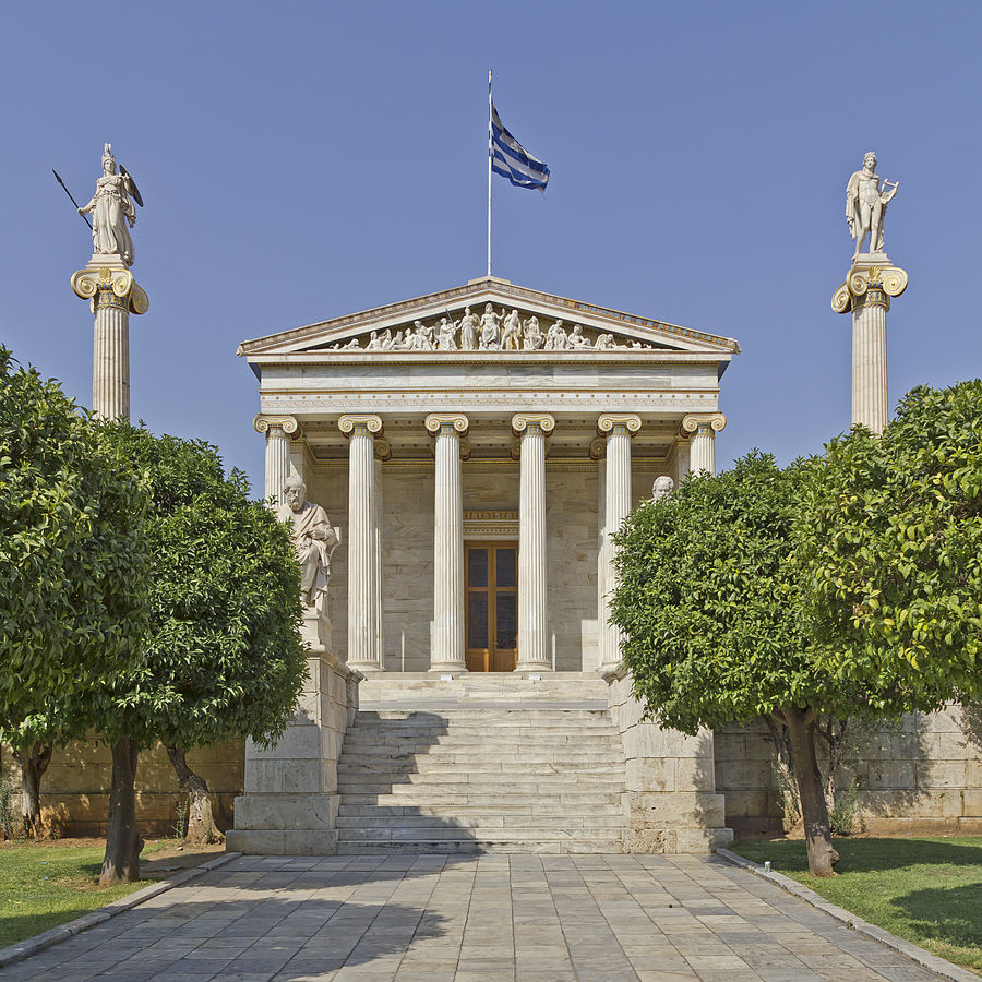 Building of the Academy of Athens | © A.Savin /WikiCommons