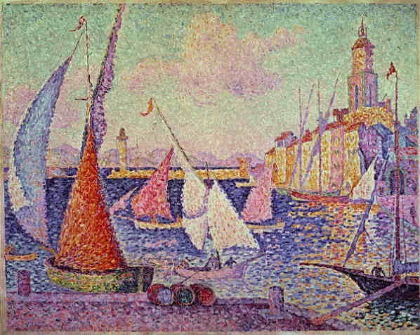 Work by Paul Signac is on show in the Musée Annonciade by the old port | © Axion Gross/Flickr
