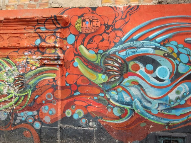 Abstract graffiti mural | Ashley Bayles/Flickr