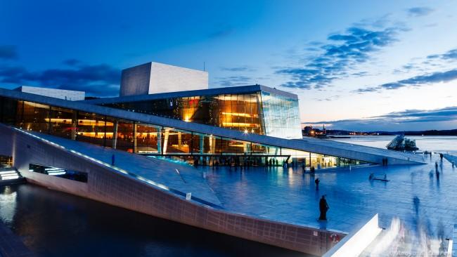 Flagstad Plass and Oslo's Opera House | © Amaya & Laurent / Flickr