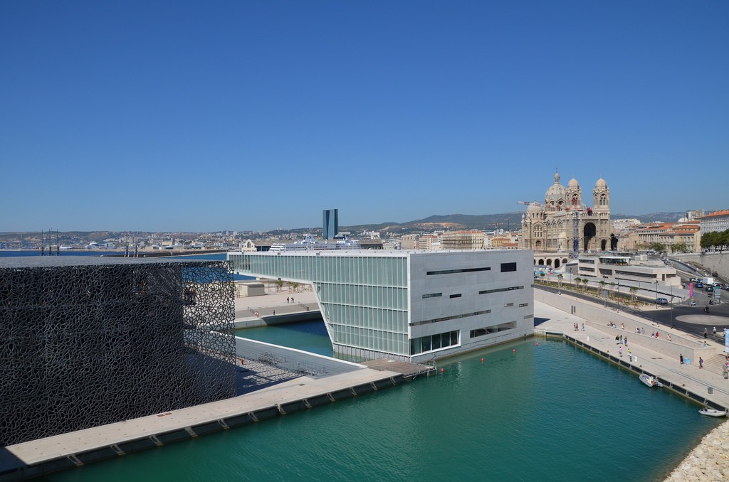 The entire MUCEM centre| © Patrick Gaudin/Flickr
