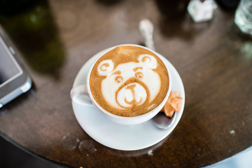 A bear design in coffee | © Jorge Gonzalez/ Flickr