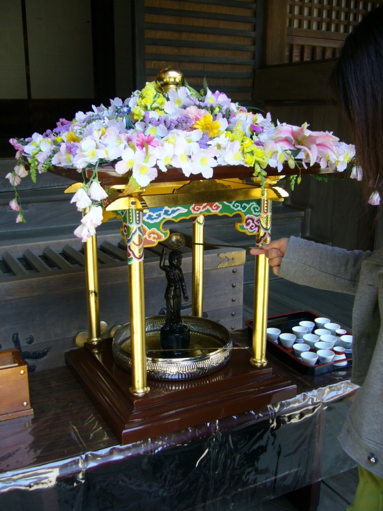 Hana-matsuri (Flower Festival) on the birthday of the Buddha in Japan | © katorisi / Wikimedia Commons