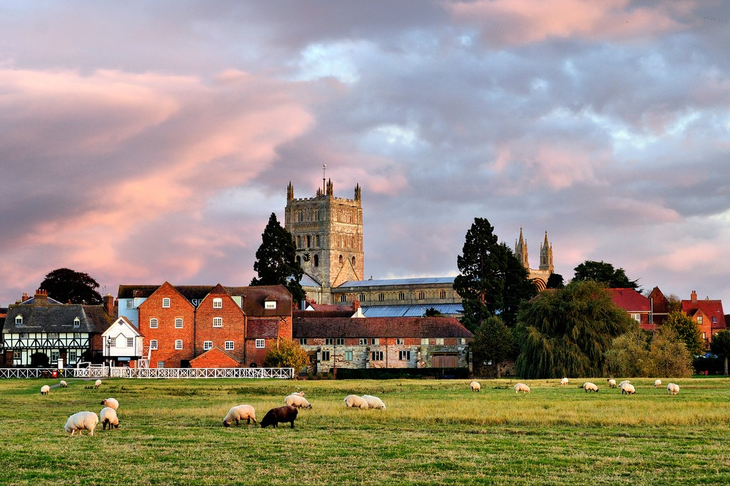 Abbey from the Ham Tewkesbury | © Jamie Taylor/Flickr