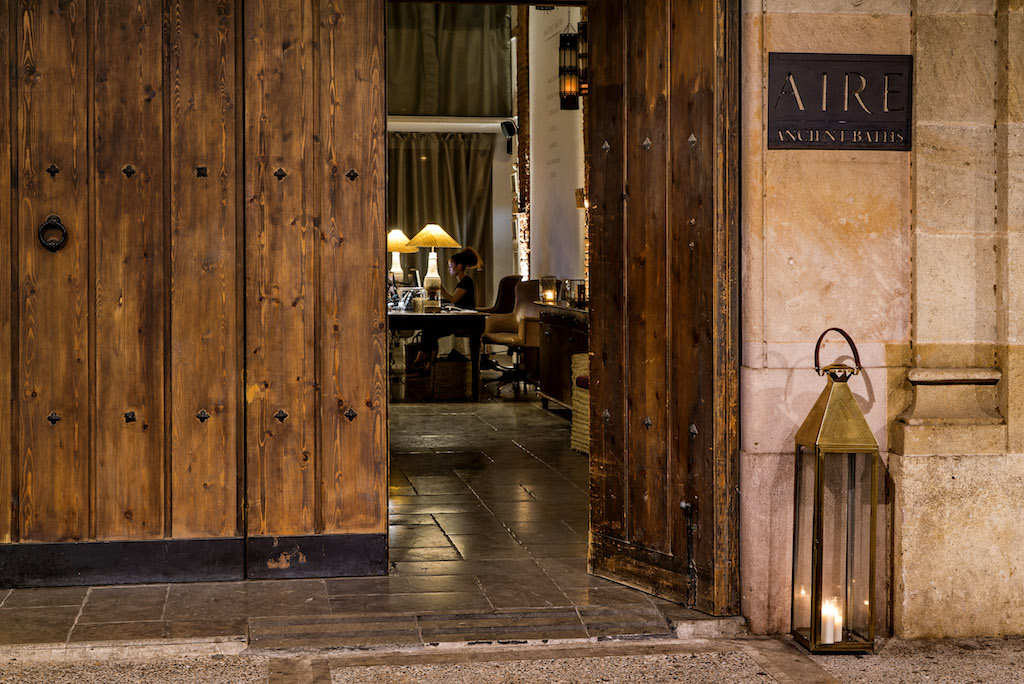 Aire is located in the historic El Born neighbourhood Courtesy of Aire Ancient Baths