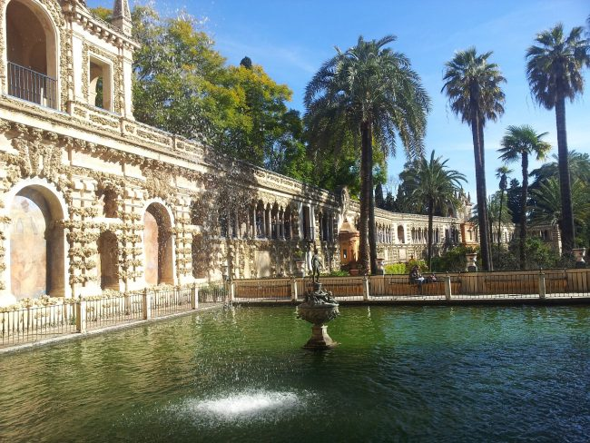 "<a href="" https://pixabay.com/p-689559/?no_redirect"">Beautiful gardens in Seville's Alcazar | © Nedim/Pixabay</a>"