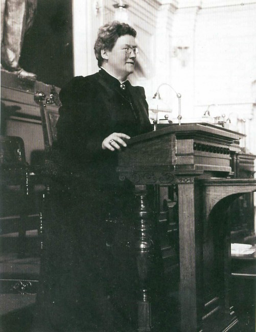 Aleksanda Gripenberg, one of Finland's first female politicians/ Wikimedia Commons