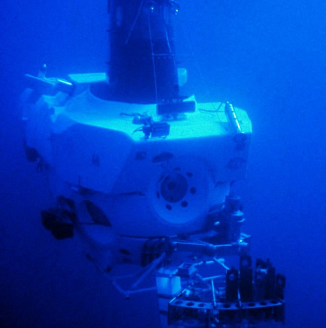 DSV Alvin, used in 1986 to mount the first manned expedition to the wreck of Titanic | © NOAA/Wikicommons