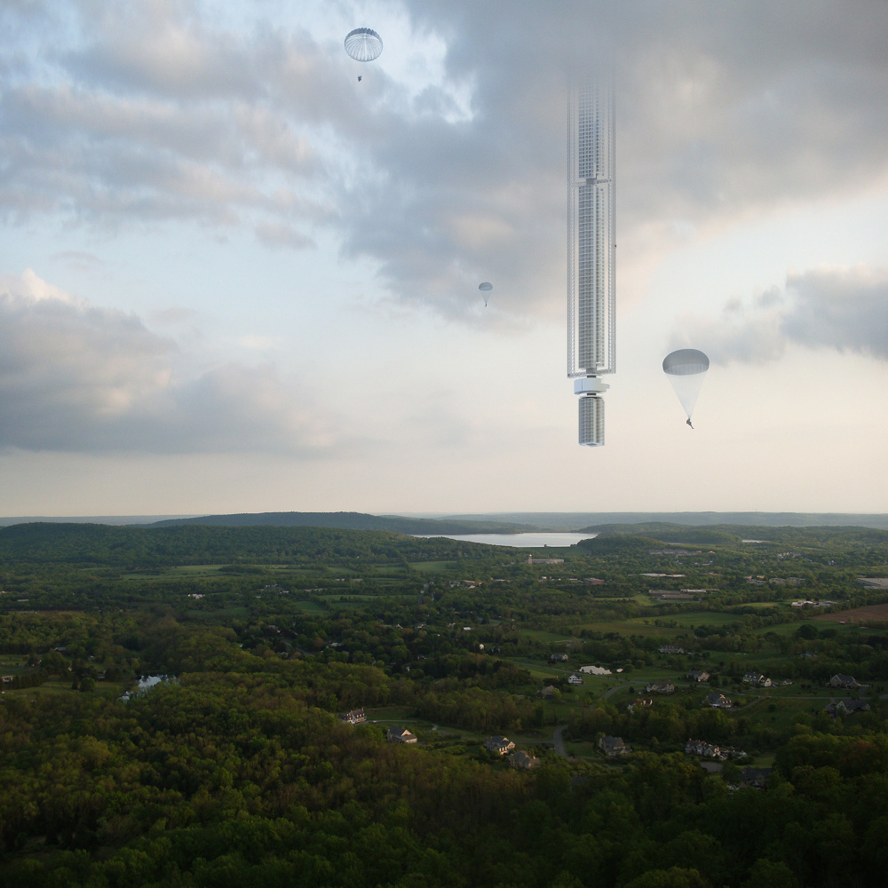 Analemma Tower | © Clouds Architecture Office