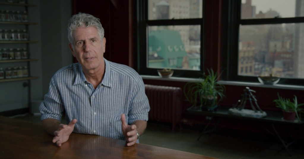 Anthony Bourdain in Jeremiah Tower: The Last Magnificent