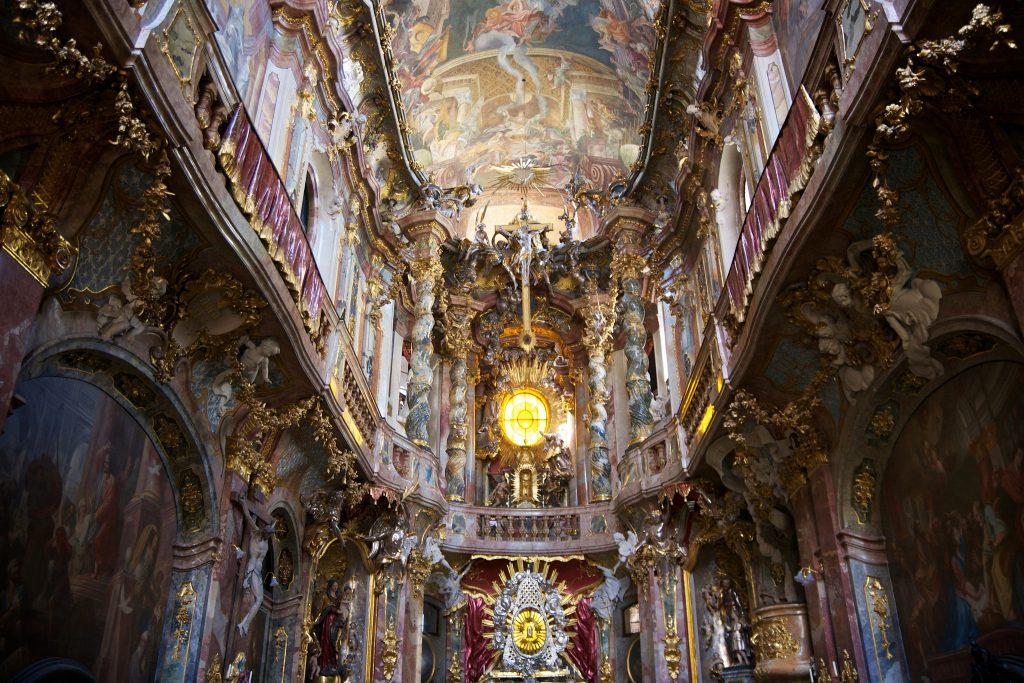 Inside Asamkirche | © Nico Kaiser / Flickr