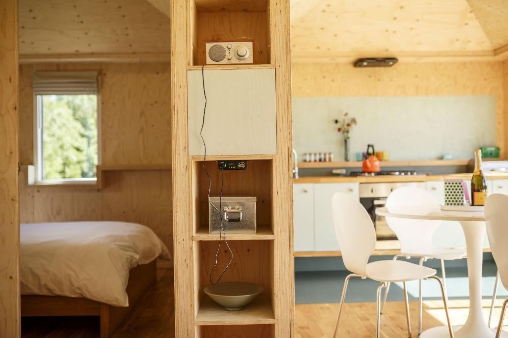 Brockloch Bothy Interior | Courtesy Of Brockloch Eco Retreat