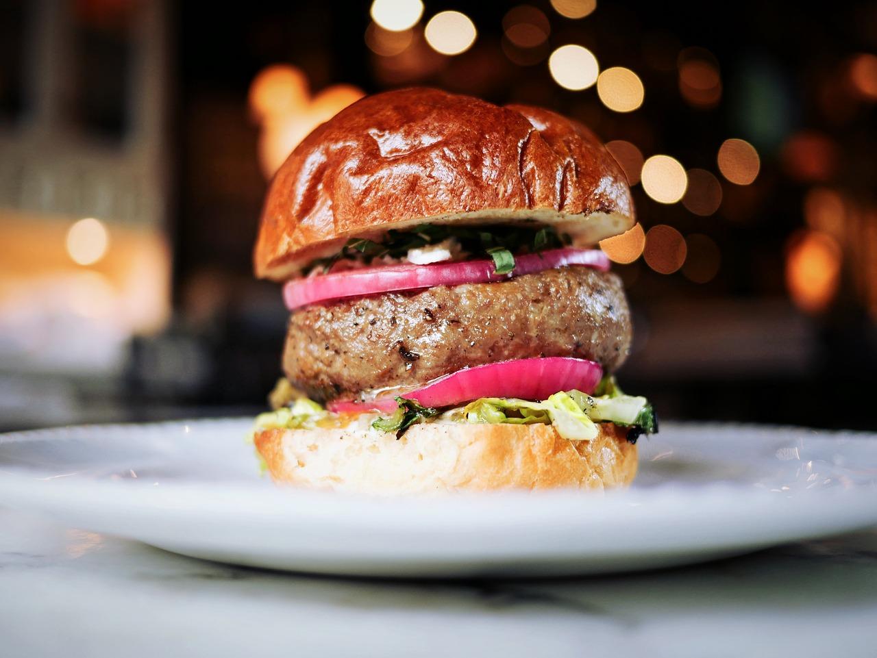 Get your gourmet burger CC0 Pixabay