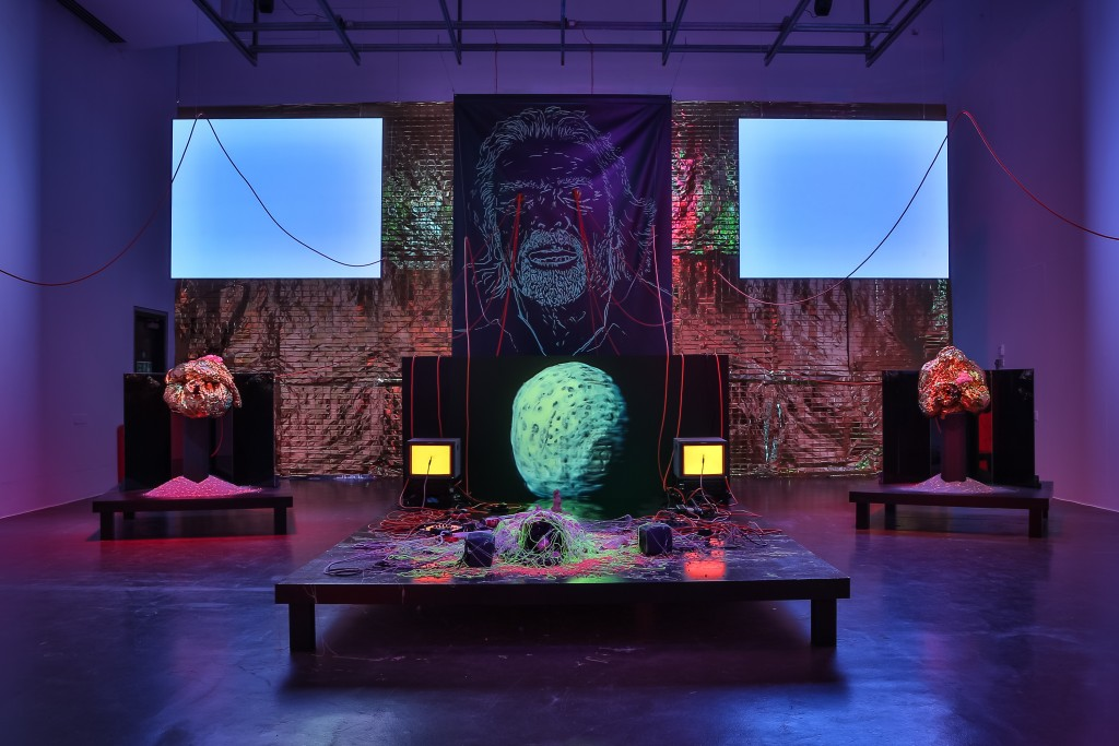 Benedict Drew, Installation view of Kaput, 2015 | Photo: Charlotte Jopling. Courtesy of the Artist and Matt's Gallery