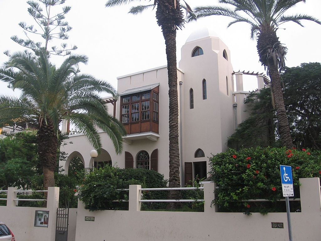 The Bialik House in Tel Aviv was home to Israel's national poet | © Gellerj / Wikimedia Commons