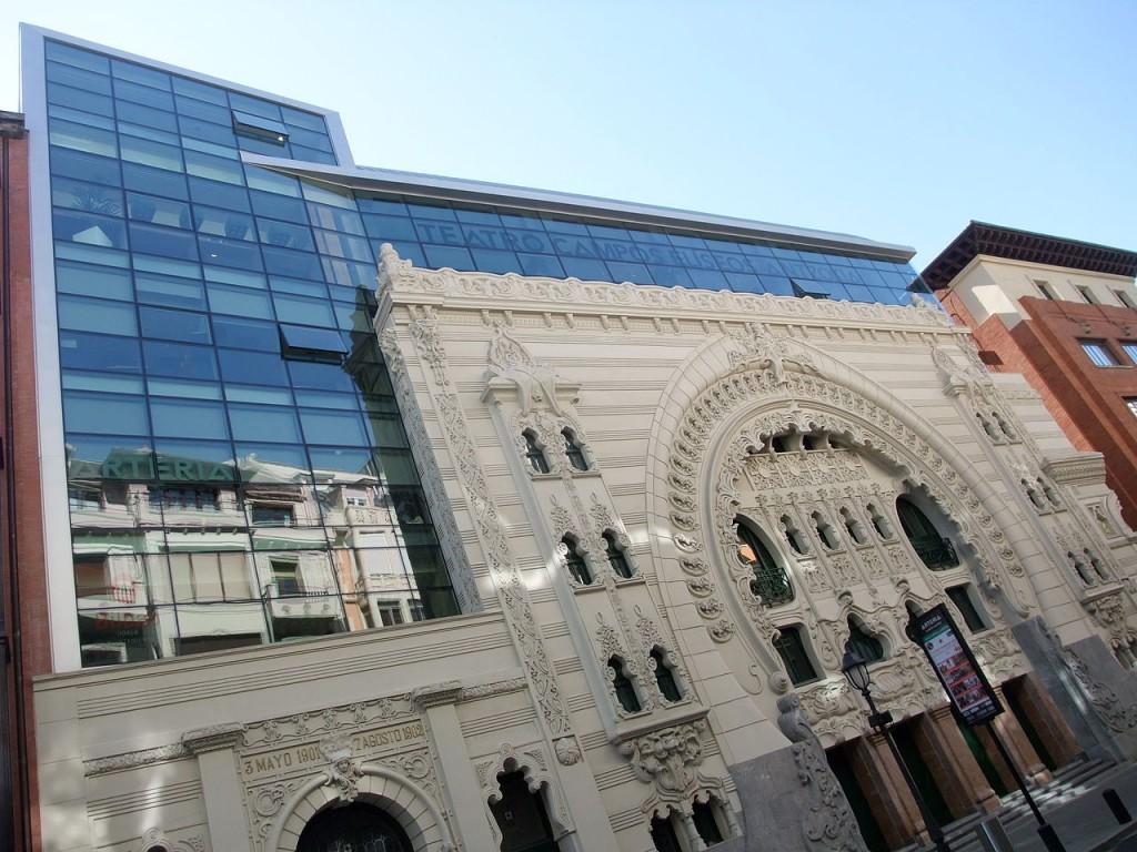 A tour of bilbao s contemporary architectural landmarks - Teatro campos elisios ...