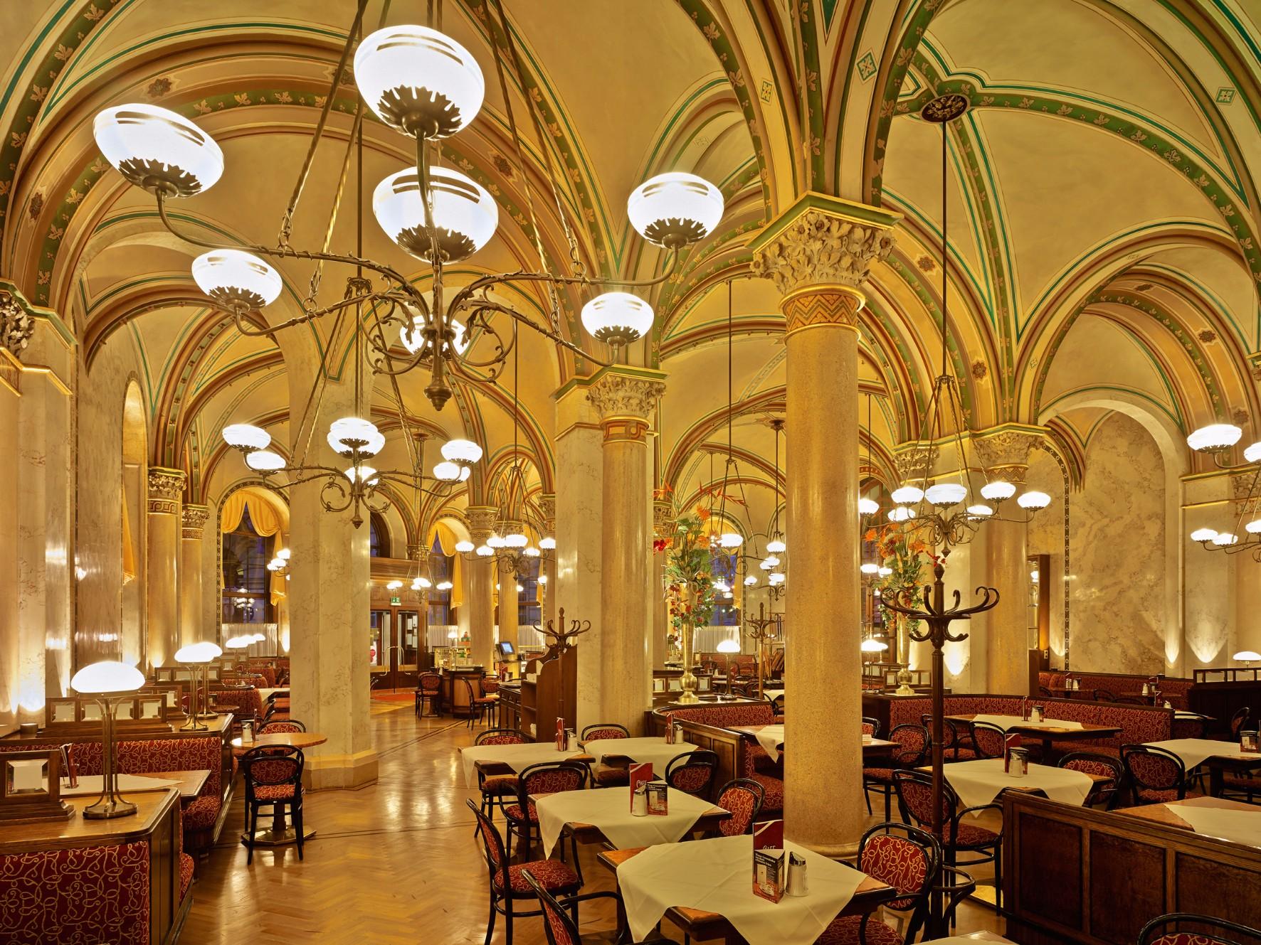 Cafe Central In Wien