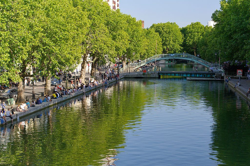 Canal Saint-Martin │© Geoffroy / Wikimedia Commons