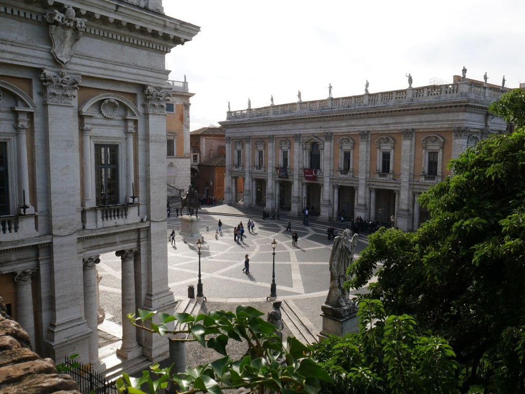 Capitoline Museums in Rome | © pixabay https://pixabay.com/it/campidoglio-piazza-roma-classico-1156731/