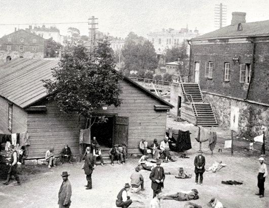 The Civil War prison camp/ Wikicommons