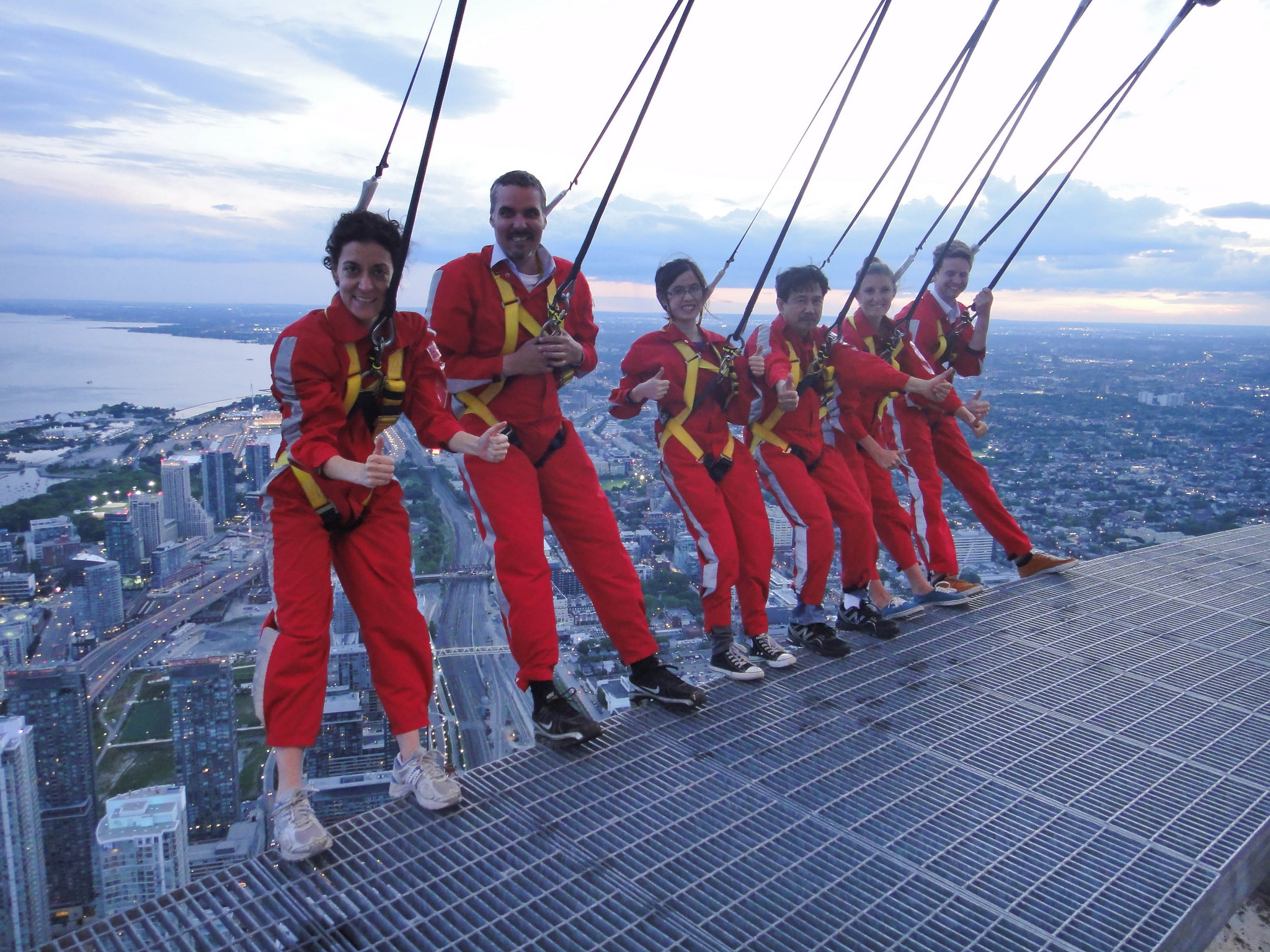 Edgewalk at the CN Tower | © Kevin Costain/ Flickr