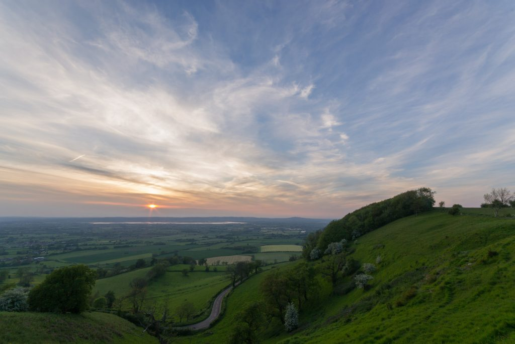 Coaley Peak Sunset | © Peter Allen/Flickr