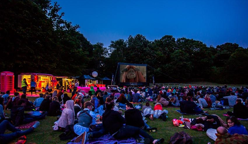 Crystal Palace Park | © Riot Communications/Luna Cinema