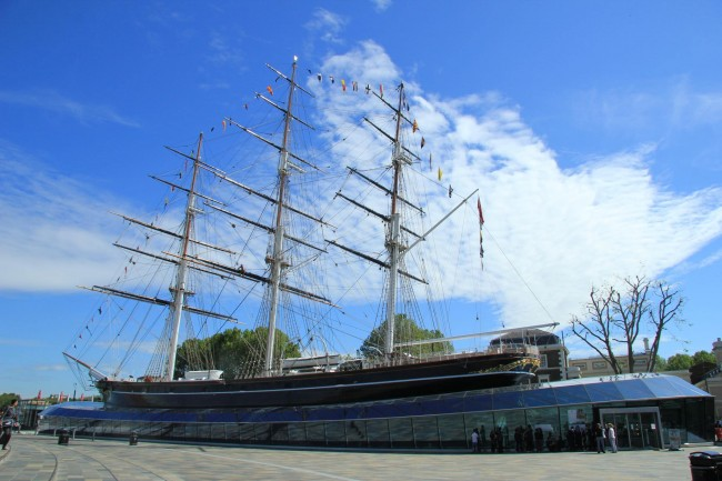 Cutty Sark, famous as the last tea clipper to be built | © Karen Roe/Flickr