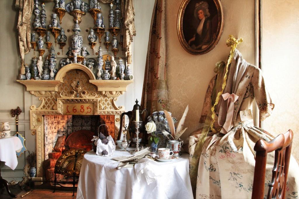 Dennis Severs' House, Master bedroom | Photo- Roelof Bakker