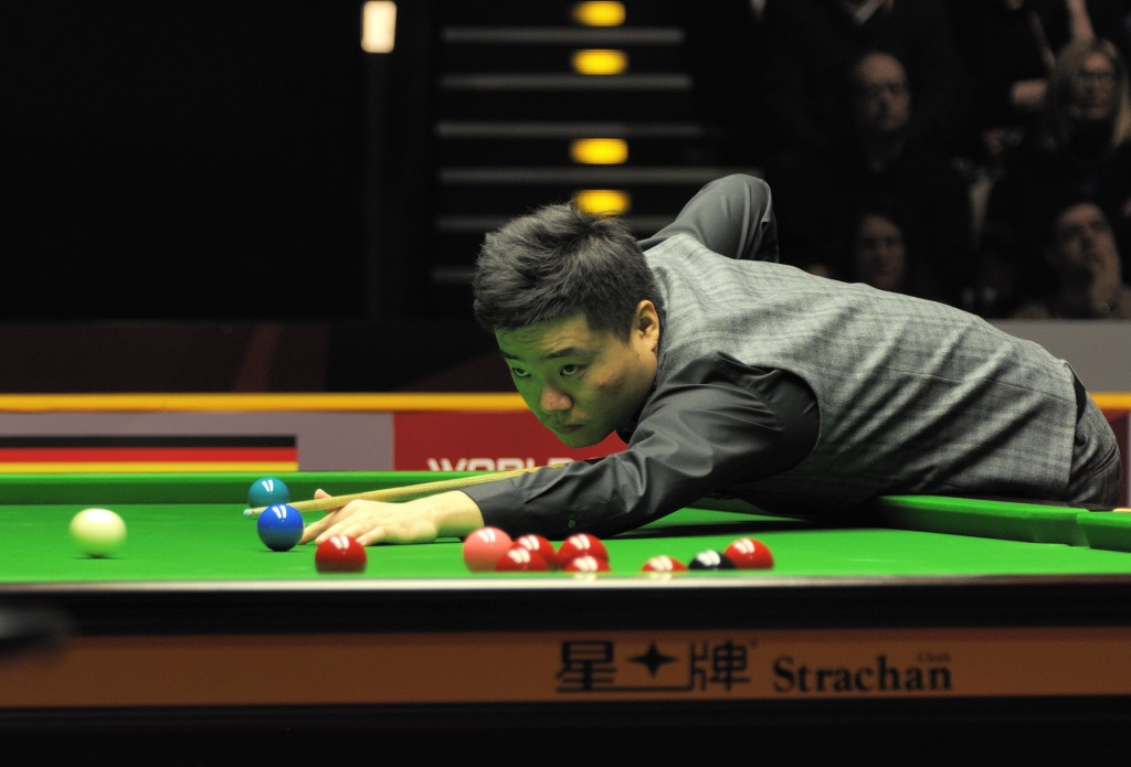 Ding Junhui at Snooker German Masters. | © wikimedia.org