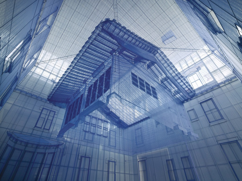 Do Ho Suh, Home within Home within Home within Home within Home, 2013. Site-specific commissioned artwork for Hanjin Shipping Box Project |© MMCA, Seoul
