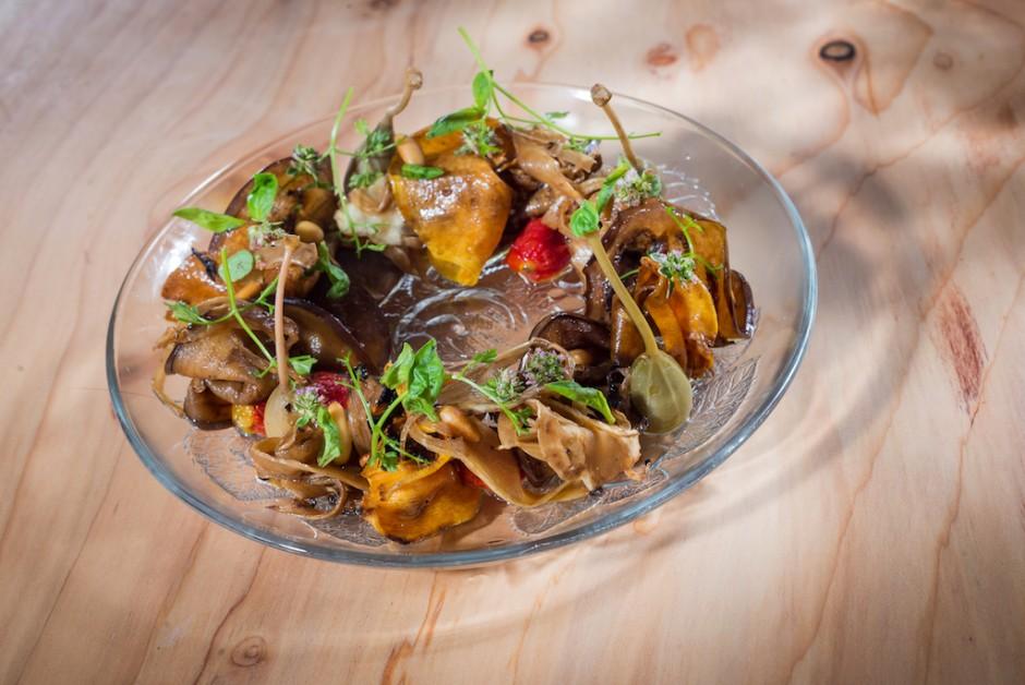A tantalising dish at Dos Pebrots, courtesy of restaurant